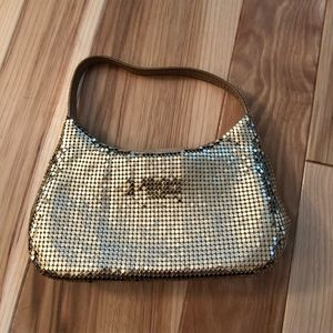 Express Gold Chainmail Purse